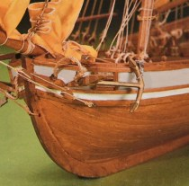 wood model ship boat kit HMS Jamaica