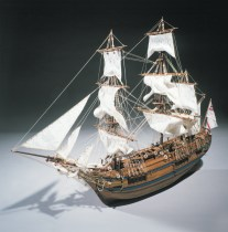 wood model ship boat kit HMS bounty 785
