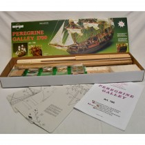 wood model ship boat kit HMS Peregrine Galley