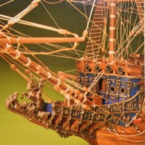 wood model ship boat kit Sovereign of the Seas