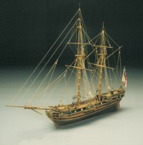 wood model ship boat kit HMS Racehorse