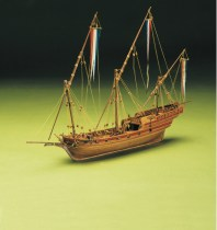 wood model ship boat kit French Xebec
