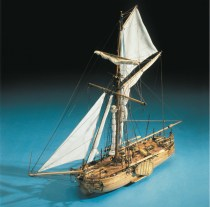 wood model ship boat kit Dutch gun boat