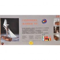 wood model ship boat kit utch gun boat