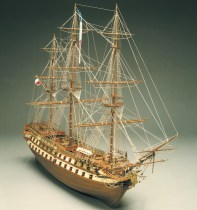 wood model ship boat kit Le Superbe