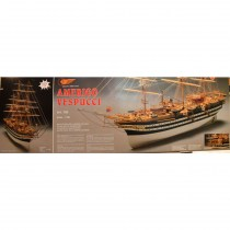 wood model ship boat kit amerigo vespucci 799