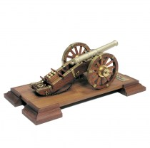 wood model weapon kit Napoleonic canon