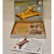 wood model weapon kit italian cannon