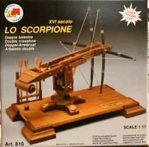 wood model weapon kit scorpion