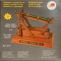 wood model weapon kit 15c canon