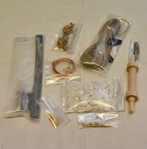 wood model weapon kit norman catapult