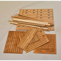 wood model weapon kit byzantine catapult