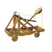 wood model weapon kit roman catapult