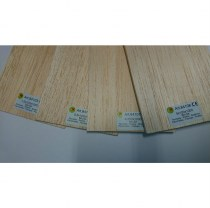 Balsa Sheet metric imperial wood for model building 84102