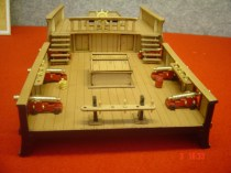 wood model ship boat kit main mizzen