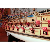 wood model ship boat kit San Felipe