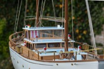 wood model ship boat kit Bruma