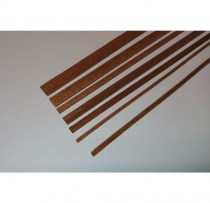 Model Mahogany strip wood for planking model ships