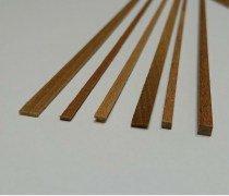 Model walnut Strip wood for planking model ships